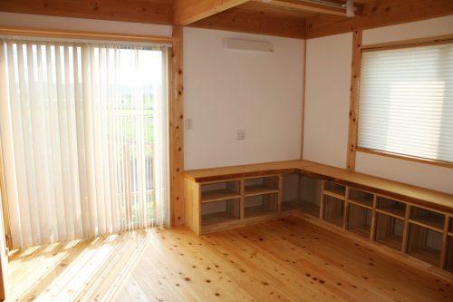 豊田市木の家工務店都築建設の旧モデルハウス1F (31)