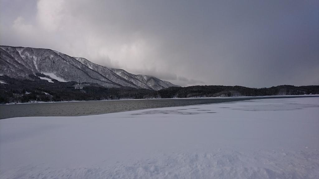 青木湖 2017.2.13