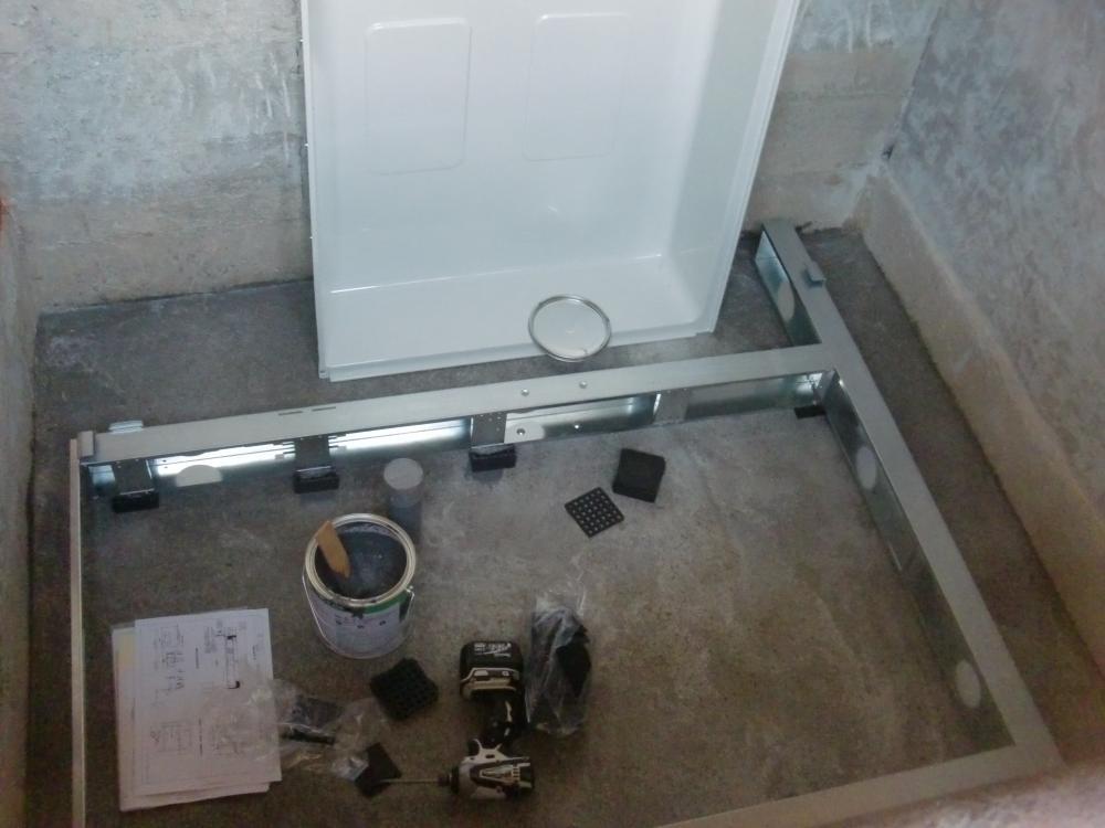 F様邸 浴室改修 UBステンレス架台