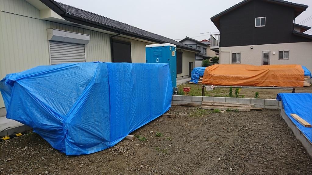 雨楽な家 M様 構造材納材
