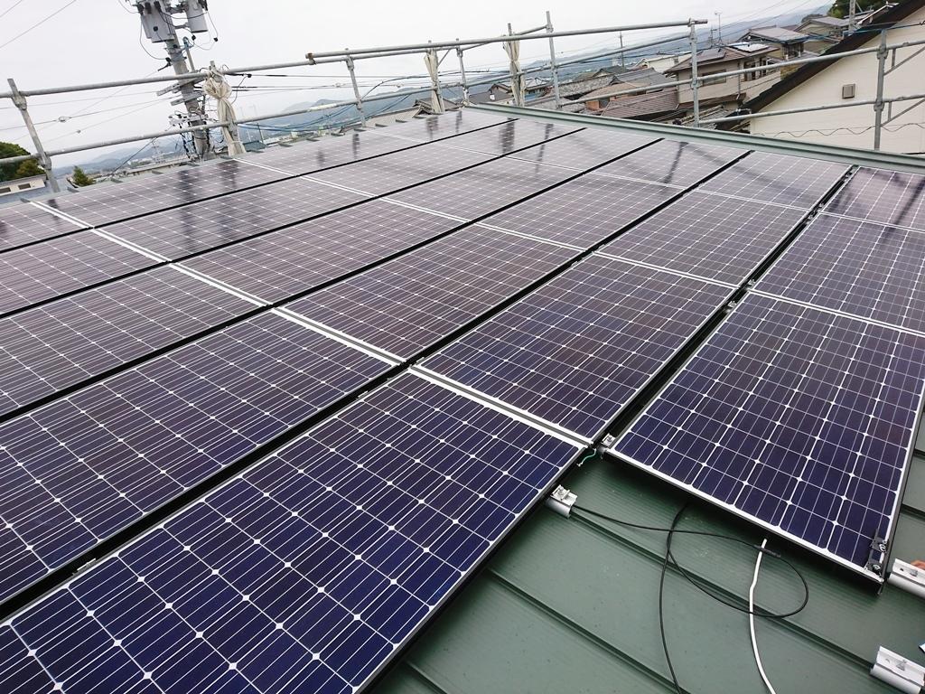 M様 太陽光設置