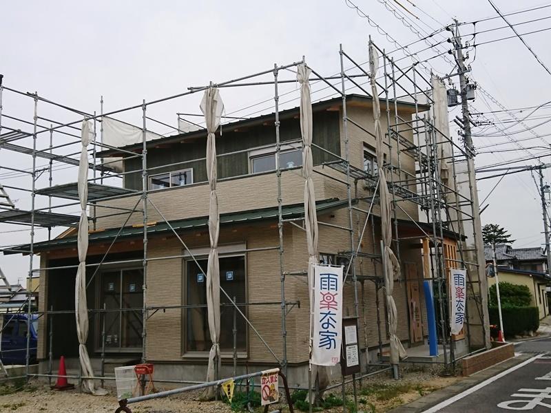 雨楽な家 M様邸9 外壁完了