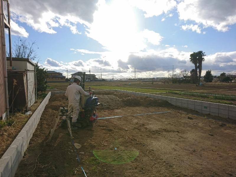 豊田市都築建設の上郷町T様 地盤調査