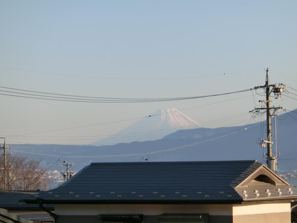 2017 元旦 富士山 諏訪から