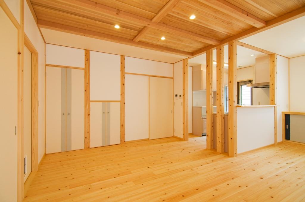 豊田市都築建設の豊田市桝塚西町の新築一戸建てのリビング1