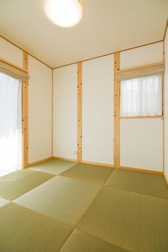 都築建設の建てた豊田市桝塚西町の新築一戸建ての和室