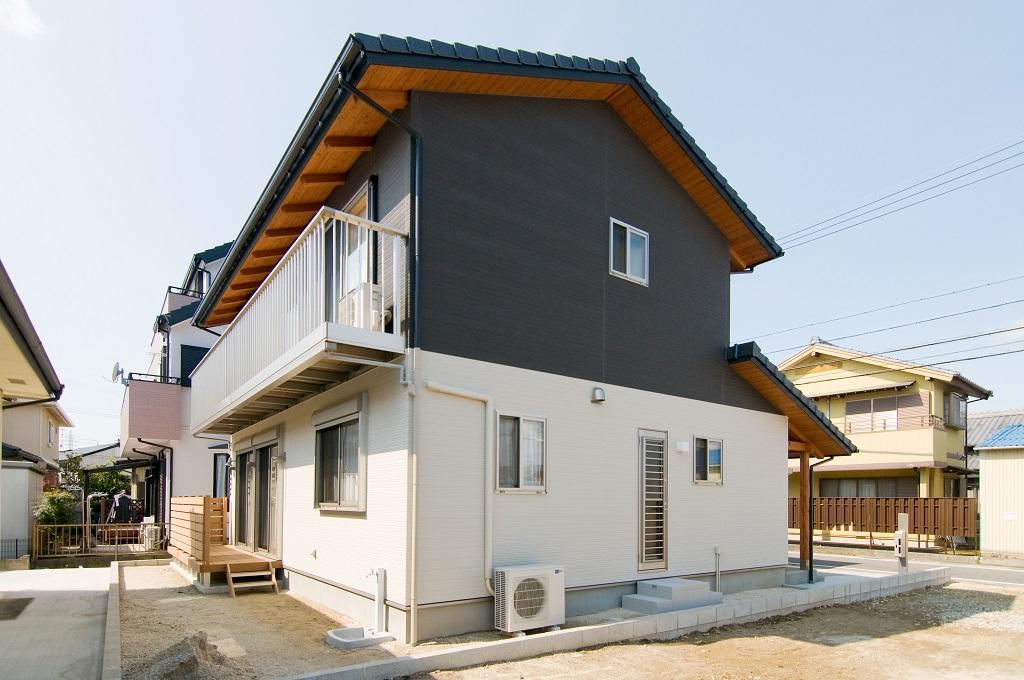 豊田市桝塚西町の新築一戸建ての外観
