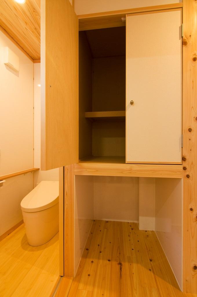 都築建設の建てた豊田市桝塚西町の新築一戸建てのねこのトイレ場所