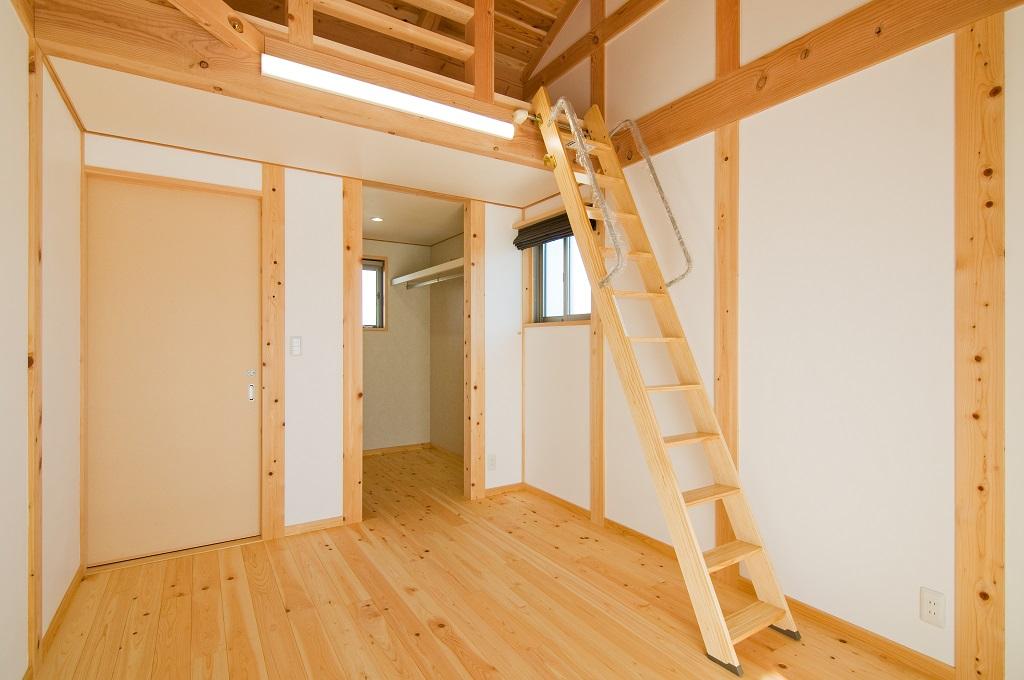 都築建設の建てた豊田市の新築一戸建ての洋室3