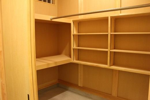 豊田市木の家工務店の都築建設 注文住宅の収納