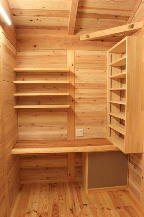 豊田市の工務店都築建設 木の家の書斎