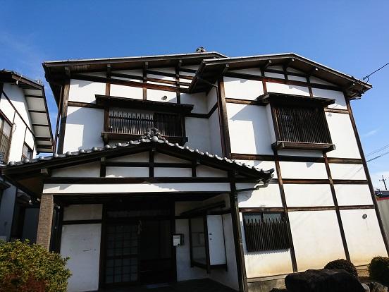 豊田市木の家工務店都築建設の岡崎市店舗リノベーション工事着工前外観