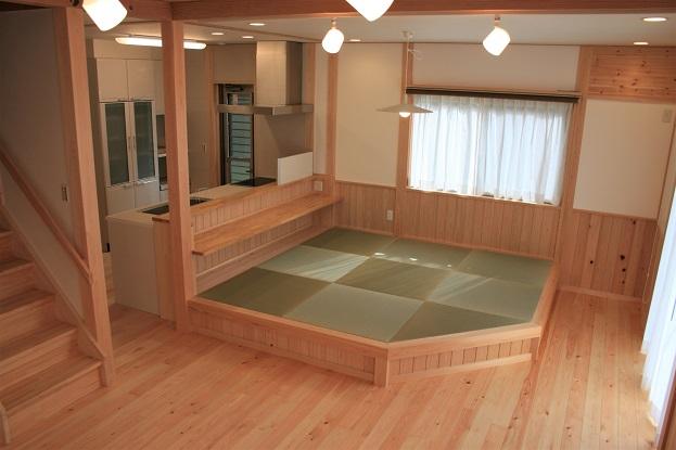 豊田市I邸リビングダイニングキッチン