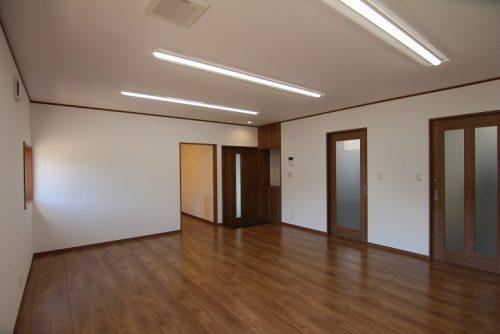 岡崎市事務所リノベージョン工事 1階事務所