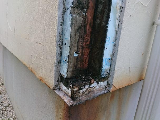 豊田市の工務店都築建設の雨漏り調査・修理3