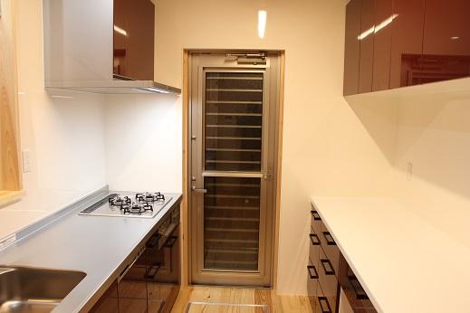豊田市の工務店都築建設が施工したキッチン