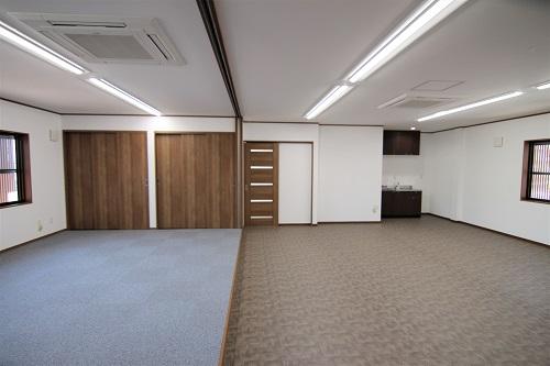 岡崎市会社事務所リノベーション工事会議室