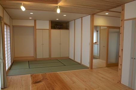 豊田市木の家工務店の注文住宅の和室スペース