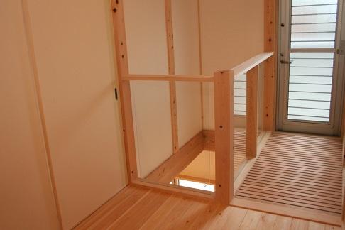 豊田市木の家工務店都築建設の猫と暮らすお客様の家キャットウォーク
