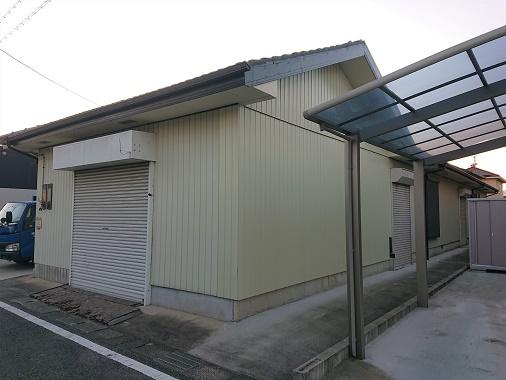 豊田市木の家工務店都築建設の新築工事 倉庫解体工事