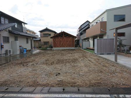 木の家工務店都築建設の新築住宅現場解体後