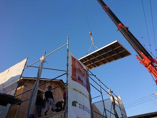 豊田市木の家工務店都築建設の注文住宅建て方