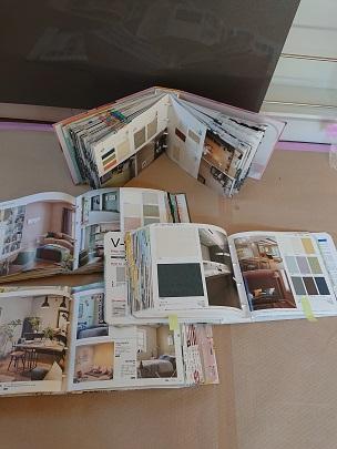 豊田市の木の家工務店都築建設の施工例クロス決め