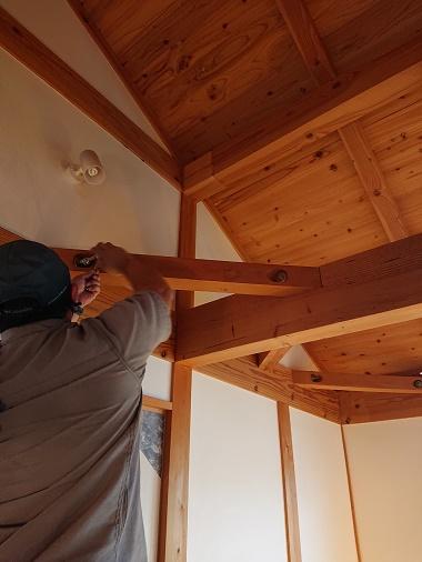 豊田市の木の家工務店都築建設のアフターサービス10年点検
