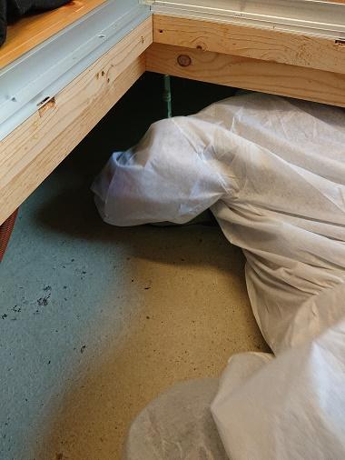 豊田市の木の家工務店都築建設の床下点検