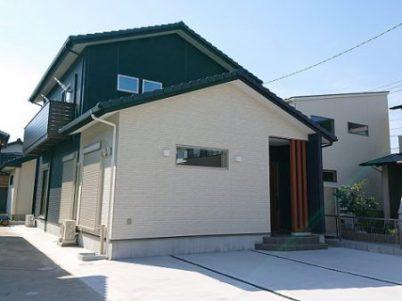 豊田市の木の家工務店都築建設の施工例外観
