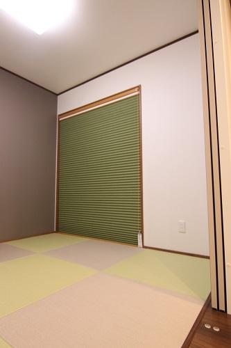 豊田市の木の家工務店都築建設の施工例注文住宅和室4.5畳