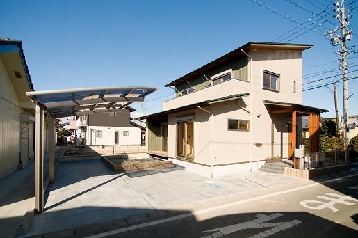 豊田市の木の家工務店都築建設の施工例m様邸外観1