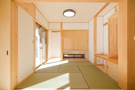 豊田市の木の家工務店都築建設の施工例m様邸和室