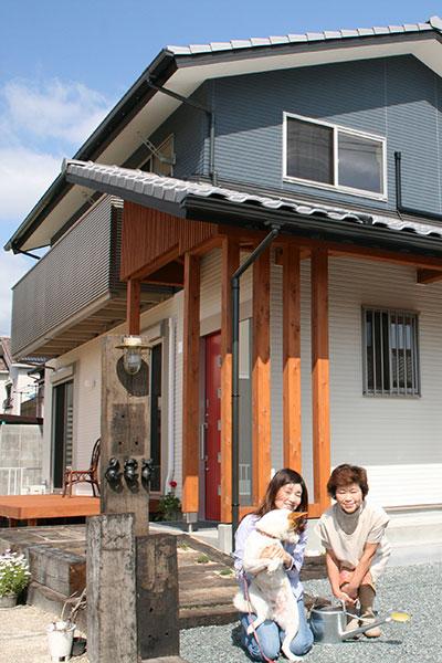 豊田市の注文住宅の外観