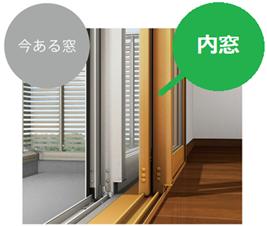 断熱・防音効果のある内窓