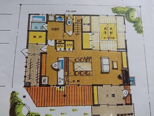雨楽な家の家事導線を考えた基本プランニング