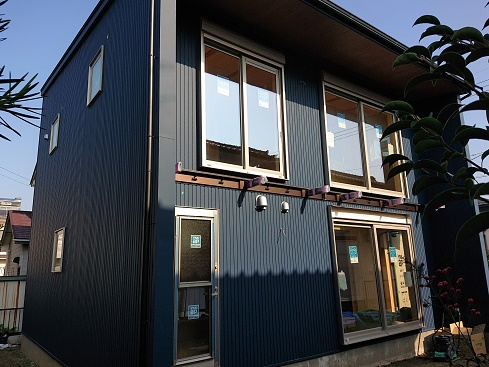 豊田市の木の家工務店都築建設の施工例豊田市ベランダ取付前
