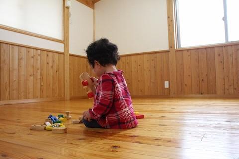 豊田市の木の家工務店都築建設の施工例 自然素材の家