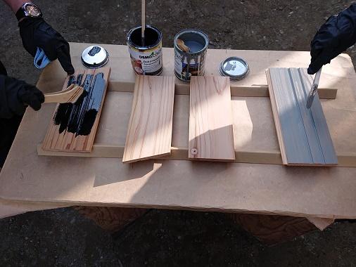 豊田市の木の家工務店都築建設のイベントワークショップ