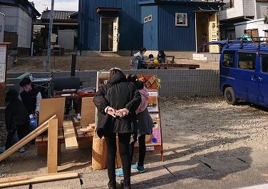 豊田市の木の家工務店都築建設のイベント現場見学会