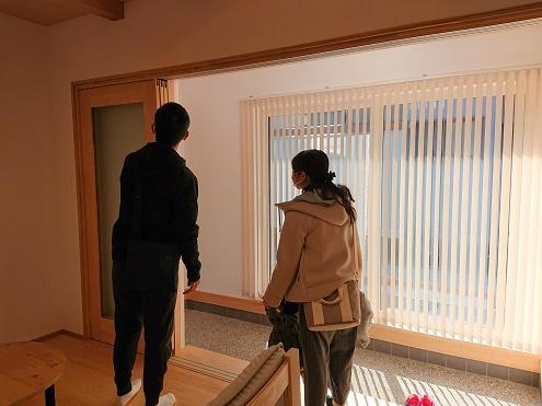 豊田市木の家工務店都築建設の完成見学会