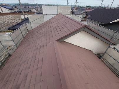 豊田市の工務店都築建設の屋根リフォーム