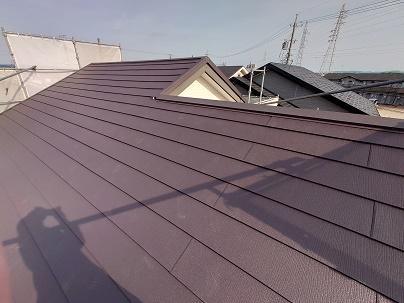 豊田市の工務店都築建設の屋根リフォーム工事