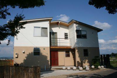 豊田市木の家工務店都築建設の旧モデルハウス雨楽な家町家